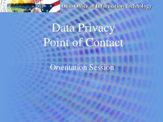 Data Privacy  Point of Contact