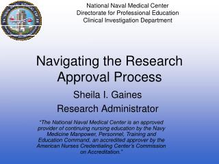 Navigating the Research Approval Process