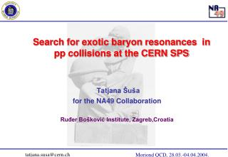 Search for exotic baryon resonances  in pp collisions at the CERN SPS