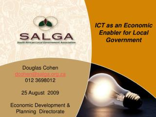 ICT as an Economic Enabler for Local Government