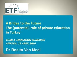 Various roles of the state and the private sector in education