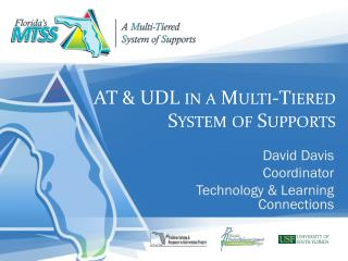 AT & UDL in a Multi-Tiered System of Supports