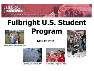 Fulbright U.S. Student Program