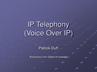 IP Telephony (Voice Over IP)