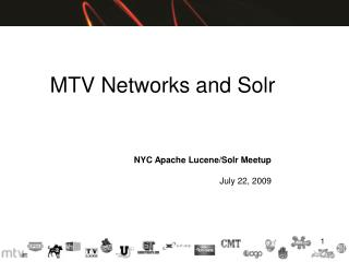MTV Networks and Solr