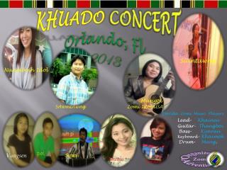 KHUADO CONCERT Orlando, Fl 2013
