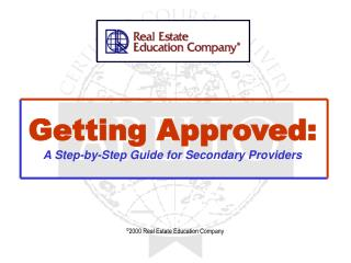 Getting Approved: A Step-by-Step Guide for Secondary Providers