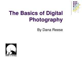 The Basics of Digital Photography