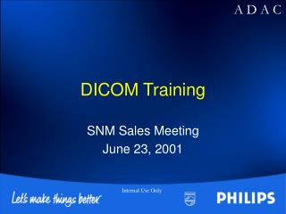 DICOM Training