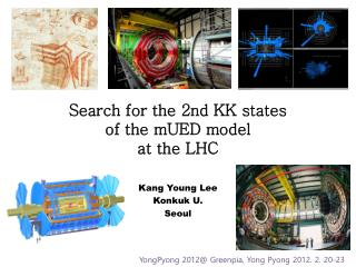 Search for the 2nd KK states of the mUED model  at the LHC