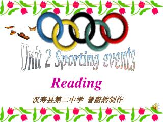 Unit 2 Sporting events