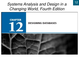 Chapter 12: Physical Architecture Layer Design