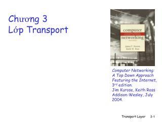 Chương 3 Lớp Transport
