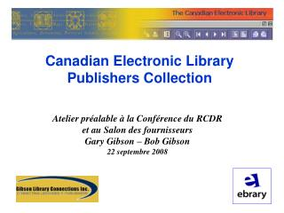 Canadian Electronic Library Publishers Collection