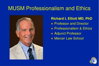 MUSM Professionalism and Ethics