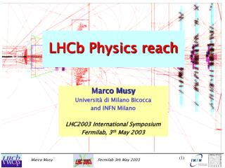 LHCb Physics reach
