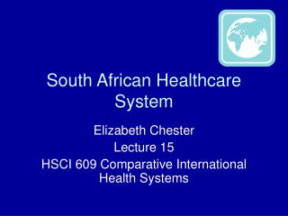 South African Healthcare System