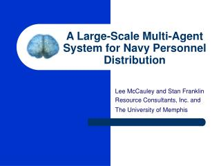 A Large-Scale Multi-Agent System for Navy Personnel Distribution