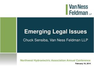 Emerging Legal Issues