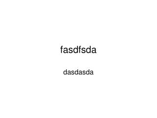 FASFASD