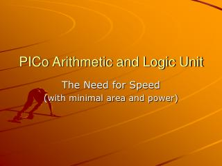 PICo Arithmetic and Logic Unit
