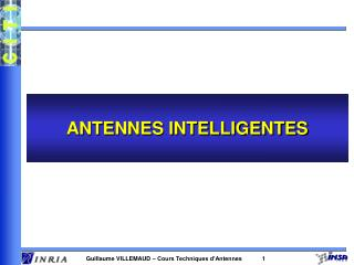 ANTENNES INTELLIGENTES