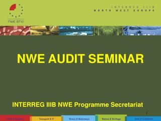 NWE AUDIT SEMINAR
