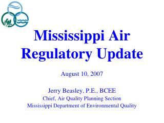 Mississippi Air Regulatory Update