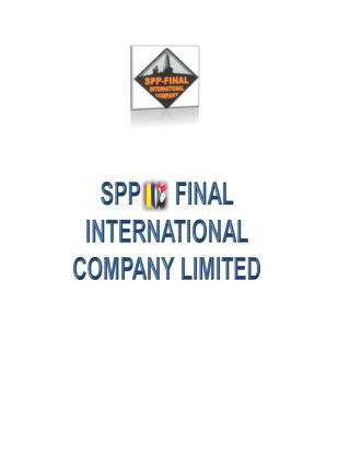 SPP   –  FINAL INTERNATIONAL COMPANY LIMITED