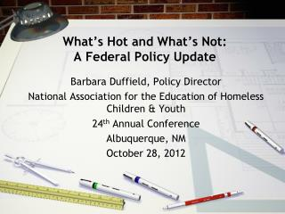 What's Hot and What's Not: A Federal Policy Update