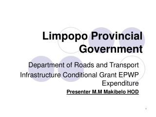 Limpopo Provincial Government