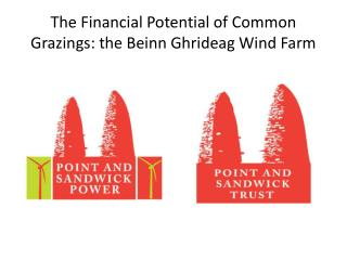 The Financial  Potential of Common Grazings: the Beinn Ghrideag Wind Farm
