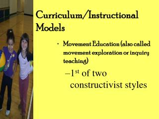 Curriculum/Instructional Models
