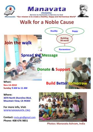 Walk for a Noble Cause
