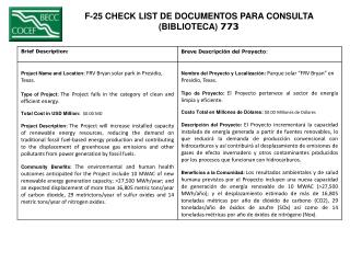 F-25 CHECK LIST DE DOCUMENTOS PARA CONSULTA  (BIBLIOTECA)  773
