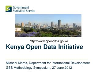 Kenya Open Data Initiative