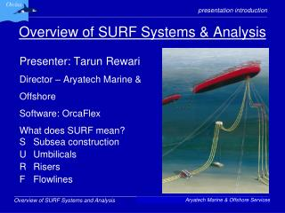 Overview of SURF Systems & Analysis