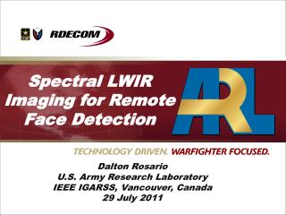 Spectral LWIR Imaging for Remote Face Detection