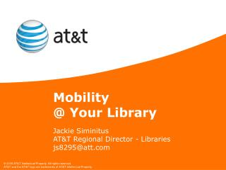 Mobility  @ Your Library