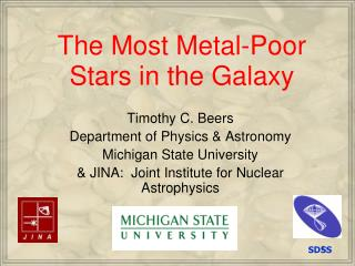 The Most Metal-Poor Stars in the Galaxy