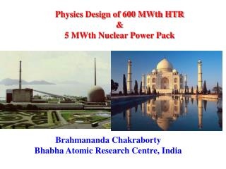 Physics Design of 600 MWth HTR & 5 MWth Nuclear Power Pack