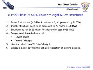 8-Pack Phase 2: SLED Power to eight 60 cm structures