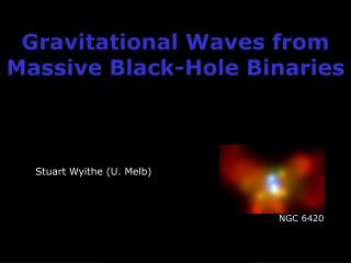 Gravitational Waves from Massive Black-Hole Binaries
