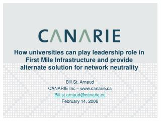 How universities can play leadership role in First Mile Infrastructure and provide alternate solution for network neutra