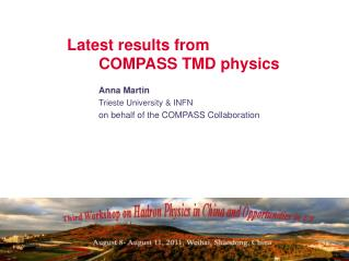 Latest results from 	COMPASS TMD physics