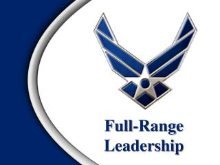 Full-Range  Leadership