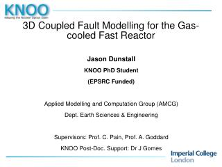 3D Coupled Fault Modelling for the Gas-cooled Fast Reactor