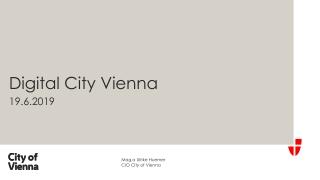 Digital City Vienna