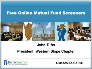 Free Online Mutual Fund Screeners