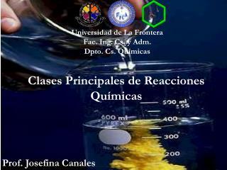 Clases Principales de Reacciones Químicas